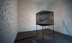 Slow Arc Inside a Cube IV by Conrad Shawcross