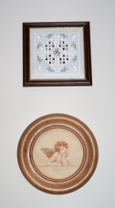 Two embroideries I did many years ago - from patterns.