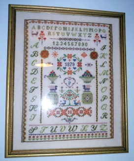 A sampler I did many years ago.