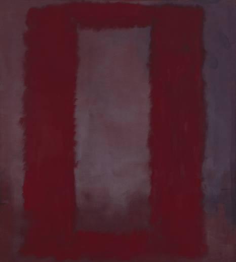 Mark Rothko, Red on Maroon 1959 © Kate Rothko Prizel and Christopher Rothko/DACS 1998