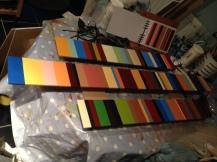 3 panels completed - spotlit
