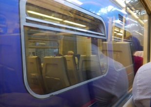 Kings X to Huntingdon for BLOG 001